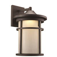 Avalon LED 18 inch Rust Outdoor Wall Lantern