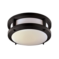 Signature 10 inch Black Flush Mount Ceiling Light