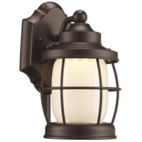 Newport LED 10 inch Rubbed Oil Bronze Outdoor Wall Lantern