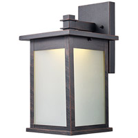 Laurel LED 13 inch Rust Outdoor Wall Lantern
