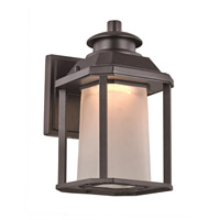 Southfield LED 10 inch Black Outdoor Wall Lantern