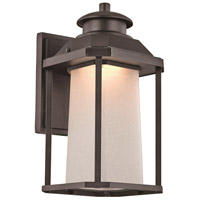 Southfield LED 14 inch Black Outdoor Wall Lantern