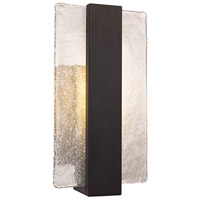Vogue LED 15 inch Black Outdoor Wall Sconce