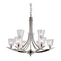 Trans Globe Lighting Energy Efficient Indoor 9 Light Chandelier in Polished Chrome MDN-1061 photo thumbnail