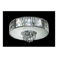 Trans Globe Chrome Chimes 6 Light Flushmount in Polished Chrome MDN-1141