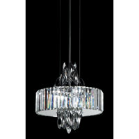 Trans Globe Chrome Chimes 6 Light Pendant in Polished Chrome MDN-1143