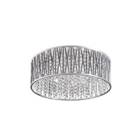 Signature 7 Light 19 inch Polished Chrome Flush Mount Ceiling Light
