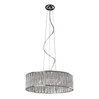 Signature 8 Light 23 inch Polished Chrome Pendant Ceiling Light