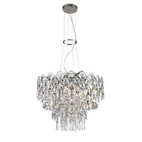 Trans Globe Lighting Chapeau 12 Light Pendant in Polished Chrome MDN-1185