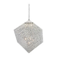 Trans Globe Lighting Bejeweled 9 Light Pendant in Polished Chrome MDN-1189
