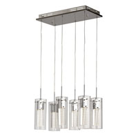 Trans Globe Lighting Signature 6 Light Pendant in Polished Chrome MDN-1205