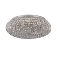 Starlight 9 Light 20 inch Polished Chrome Flushmount Ceiling Light
