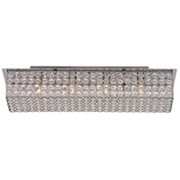 Monarch 4 Light 25 inch Polished Chrome Vanity Bar Wall Light