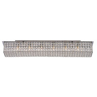 Monarch 6 Light 37 inch Polished Chrome Vanity Bar Wall Light