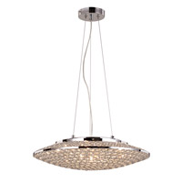 Signature 9 Light 20 inch Polished Chrome Pendant Ceiling Light