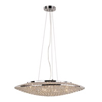 Trans Globe Signature 12 Light Pendant in Polished Chrome MDN-1229