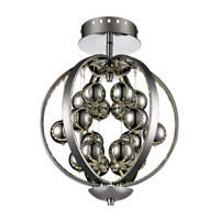 Trans Globe Signature Semi Flush Mount in Polished Chrome MDN-1262