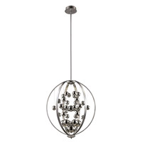 Trans Globe Signature Pendant in Polished Chrome MDN-1265