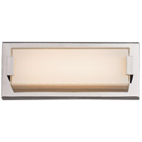 Trans Globe Lighting MDN-1335 Signature LED 11 inch Polished Chrome Vanity Light Wall Light