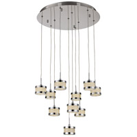 Devonshire LED 20 inch Polished Chrome Pendant Ceiling Light