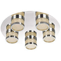 Devonshire LED 16 inch Polished Chrome Flush Mount Ceiling Light