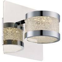 Devonshire LED 6 inch Polished Chrome Wall Sconce Wall Light