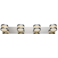 Devonshire LED 26 inch Polished Chrome Vanity Bar Wall Light
