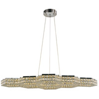 Trans Globe Lighting MDN-1411 Venue LED 25 inch Polished Chrome Pendant Ceiling Light photo thumbnail