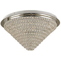 Bel Air LED 23 inch Polished Chrome Flush Mount Ceiling Light