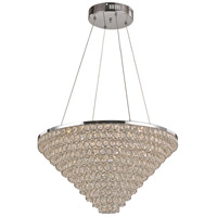 Bel Air LED 23 inch Polished Chrome Pendant Ceiling Light