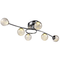 Moreau LED 12 inch Polished Chrome Flush Mount Ceiling Light