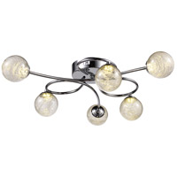 Moreau LED 23 inch Polished Chrome Flush Mount Ceiling Light