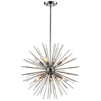 Collina 9 Light 24 inch Polished Chrome Pendant Ceiling Light