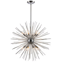 Collina 12 Light 29 inch Polished Chrome Pendant Ceiling Light