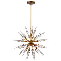 Collins 6 Light 24 inch Antique Gold Pendant Ceiling Light