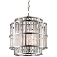 Dapper 4 Light 16 inch Polished Chrome Pendant Ceiling Light