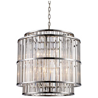 Dapper 6 Light 20 inch Polished Chrome Pendant Ceiling Light