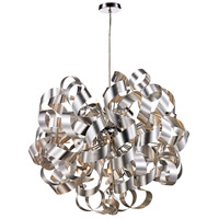 Medley 12 Light 32 inch Satin Aluminum Pendant Ceiling Light