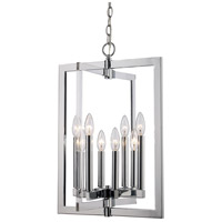 Darby 8 Light 16 inch Polished Chrome Pendant Ceiling Light