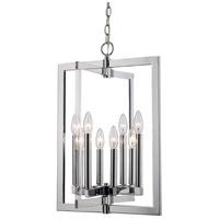 Trans Globe Lighting MDN-1479 Darby 8 Light 16 inch Polished Chrome Pendant Ceiling Light