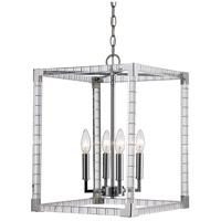 Trans Globe Lighting MDN-1492 Sinclair 4 Light 14 inch Polished Chrome Pendant Ceiling Light