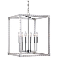 Sinclair 6 Light 18 inch Polished Chrome Pendant Ceiling Light
