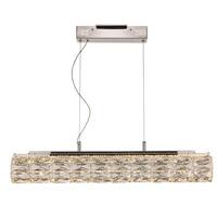 Trans Globe Lighting MDN-1516 Dunsmore LED 30 inch Polished Chrome LED Pendant Ceiling Light