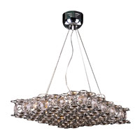 Trans Globe Lighting Modern 14 Light Pendant in Chrome MDN-569 photo thumbnail