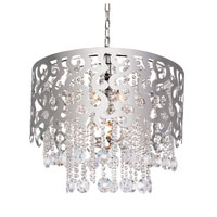 Trans Globe Lighting Modern Collection 5 Light Pendant in Chrome MDN-694