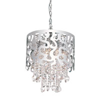 Trans Globe Lighting Modern Collection 8 Light Pendant in Chrome MDN-696
