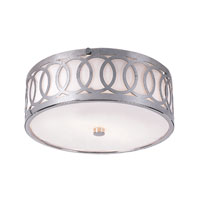 Trans Globe Lighting Modern Collection 2 Light Flush Mount in Brushed Nickel MDN-900