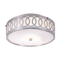 Trans Globe Lighting Modern Collection 3 Light Flush Mount in Brushed Nickel MDN-901