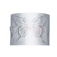 Trans Globe Lighting Modern Meets Traditional 1 Light Wall Sconce in Polished Chrome MDN-938 photo thumbnail