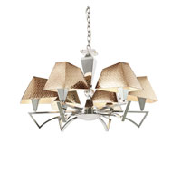 Trans Globe Lighting Young And Hip 6 Light Chandelier in Polished Chrome MDN-949